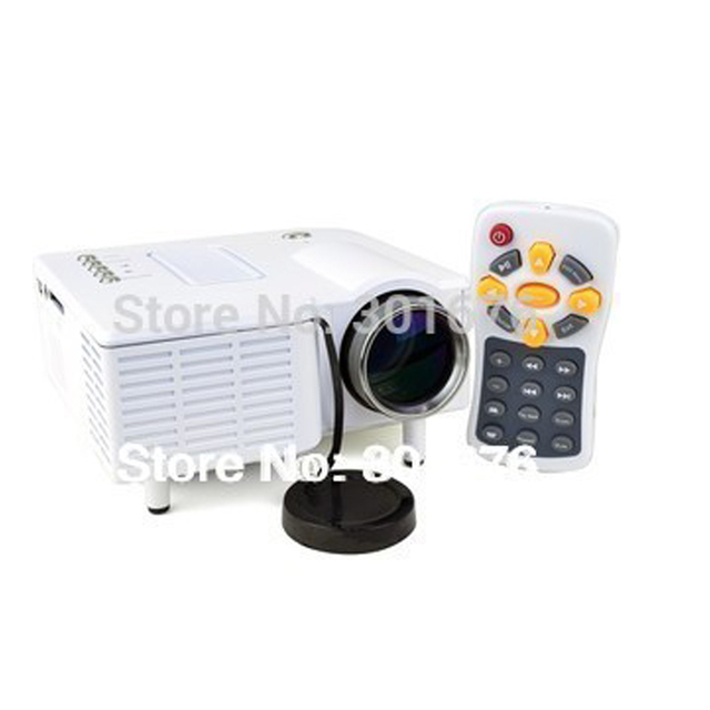 Free Shipping LED projector Mini proyector ! Portable Multimedia LED  Mini Projector support HDMI AV-in Video VGA