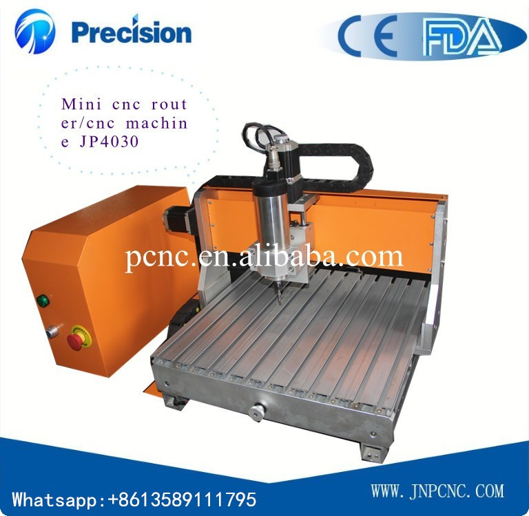 Beautiful design JP3040 cnc router for processing electronic product model with small working area(China (Mainland))