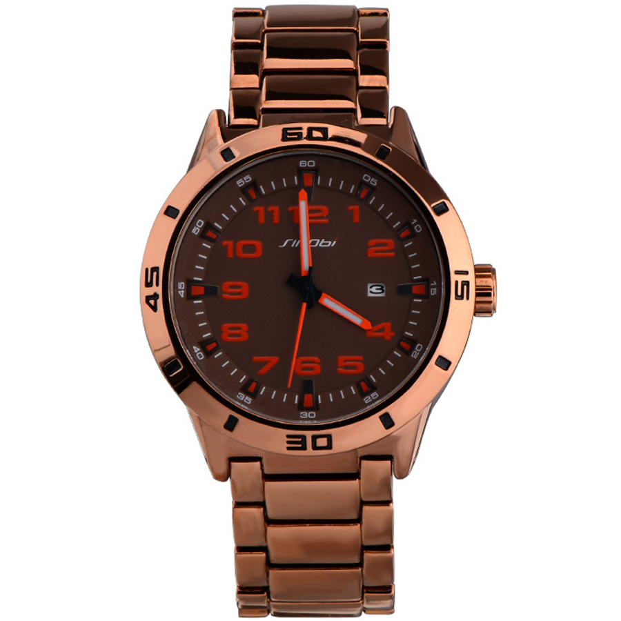 mens designer gold watches