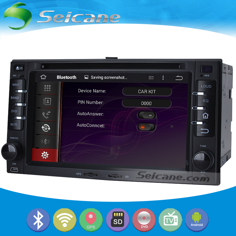 Seicane S166227 OEM Android 5.1.1 Radio GPS DVD Player Navigation System for 2002-2009 KIA Sorento with Steering Wheel Control(China (Mainland))