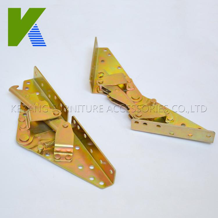 Hot sale promotion extendable sofa bed device folding bed mechanism hinge KYA022-3(China (Mainland))