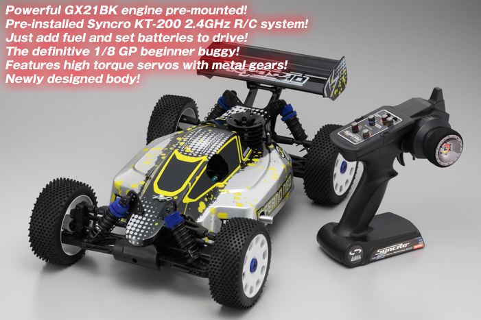 KYOSHO 1/8 GP 4WD RACING BUGGY / INFERNO NEO with Syncro KT-200 / KY31295T1(China (Mainland))