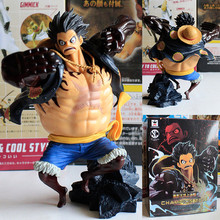 Buy 16cm PVC One Piece Anime Gear Fourth Monkey D Luffy Action Figure Toys, Special One Piece Luffy Figure toy, Anime Brinquedos for $18.69 in AliExpress store
