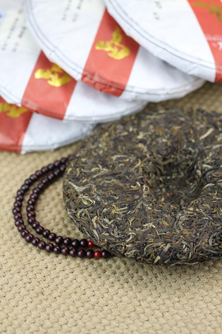 Trees Puerh the tea health care Chinese yunnan 357g umbrella high quality virgin material  cake trecsure  China the food pu erh cheap