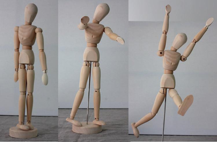 Деревянные шарнирные куклы своими руками 74