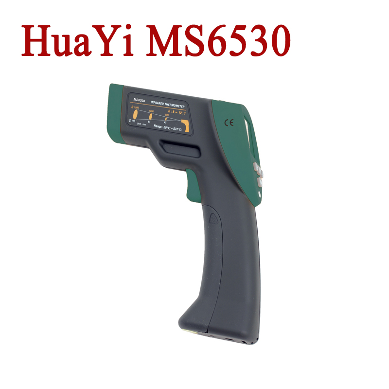 HuaYi MS6530 12:1 Digital Non-contact Infrared Thermometer Tester IR Temperature Meter<br><br>Aliexpress