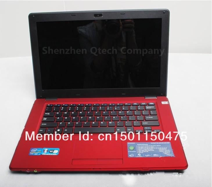 14 дюймов металл ультрабук процессора Intel 1037U игры GPU портативный ноутбук Windows7 8.1 4 ГБ оперативной памяти 500 ГБ DVD AZERTY русский испанский клавиатура