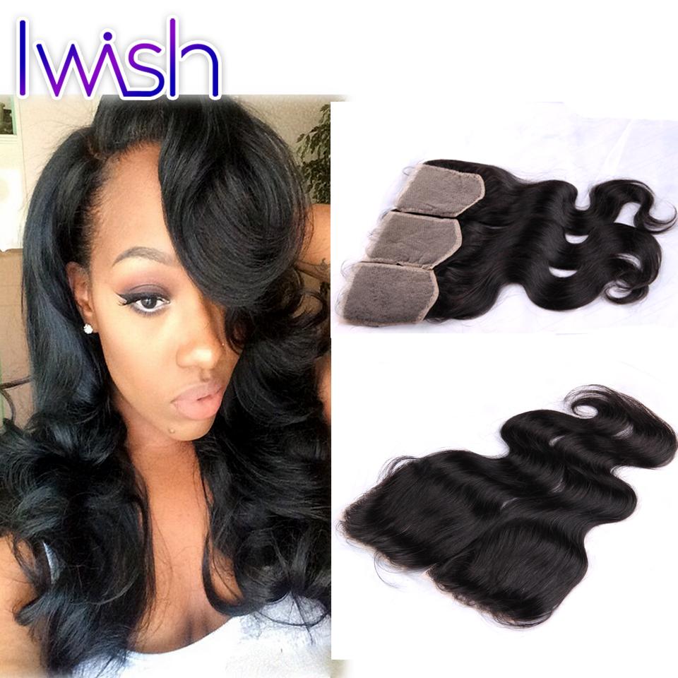 Cheap Swiss Lace Closure Silky Hair Top Closure 4x4 Brazilian Virgin Hair Body Wave 3pcs lot &amp; 4pcs lot Natural Color 1b<br><br>Aliexpress