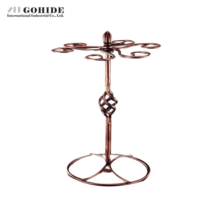 Popular Wrought Iron Wine Glass Rack Buy Cheap Wrought