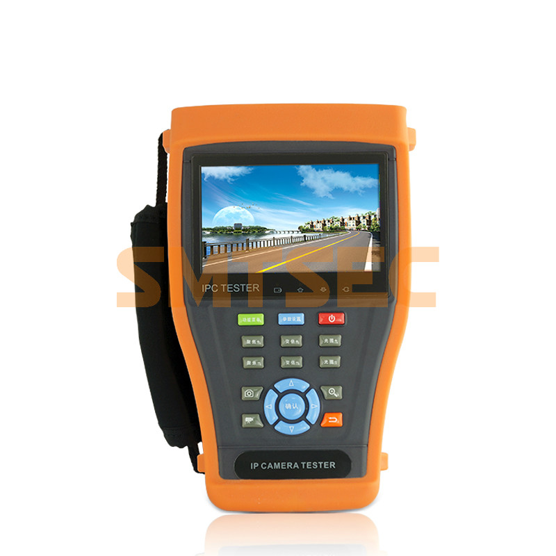 """Video level meter CCTV Tester 4.3"""" touch screen test monitor Wifi POE IP camera Analog camera test CCTV Tester Pro (IPC-3400L)(China (Mainland))"""