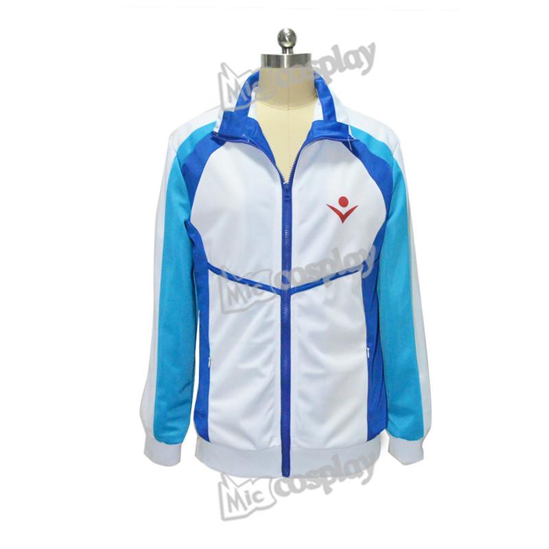 Anime Free ! Iwatobi Swim Club Haruka Nanase School Sport Coat Jacket Unisex Clothing(China (Mainland))