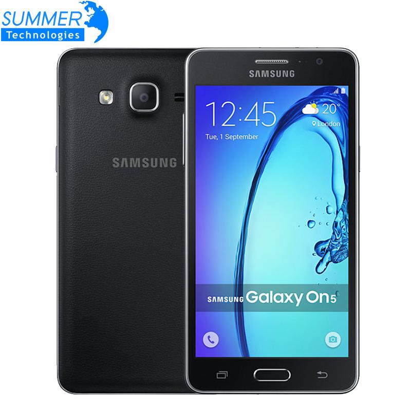 Unlocked Original Samsung Galaxy On5 G5500 Exynos 3475 CPU Quad Core Dual SIM 8GB ROM 1280x720 4G LTE Android Phone(China (Mainland))