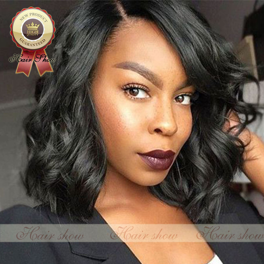 7A Full Lace Human Hair Wigs Bob Wave For Black Women Brazilian Hair Wig Lace Front Human Hair Wigs Glueless Full Lace Wigs<br><br>Aliexpress