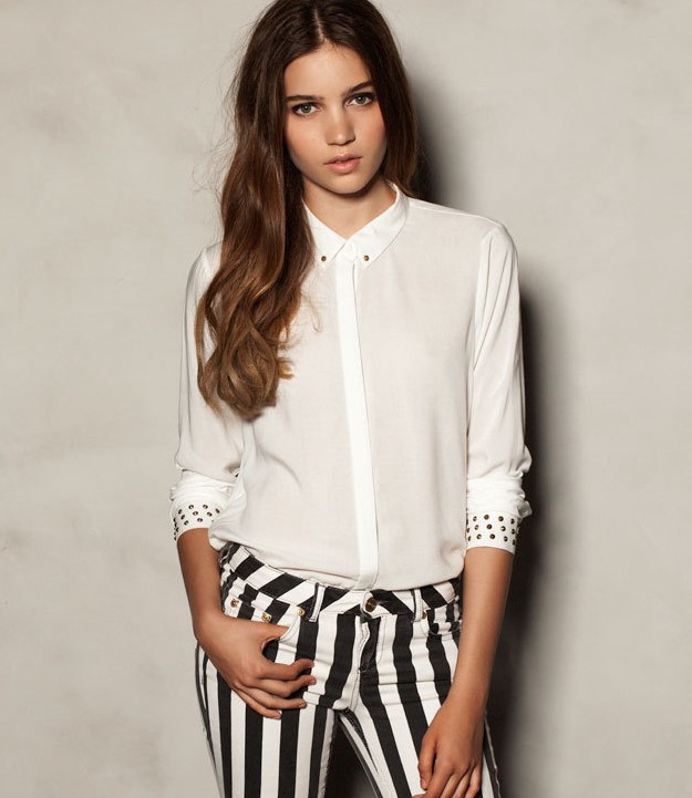 Мода Блузки 2013 Г