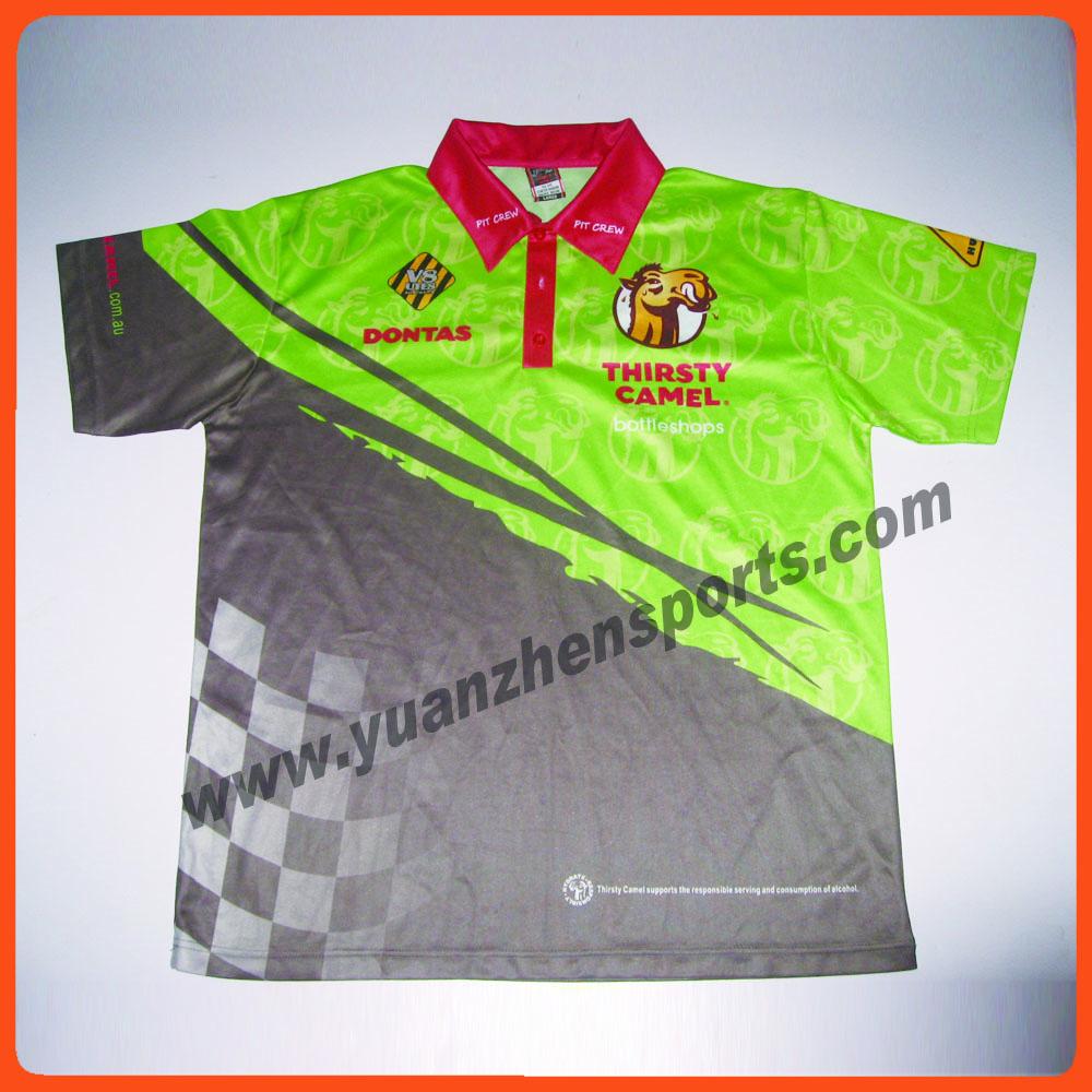 full custom sports cricket polo shirt(China (Mainland))