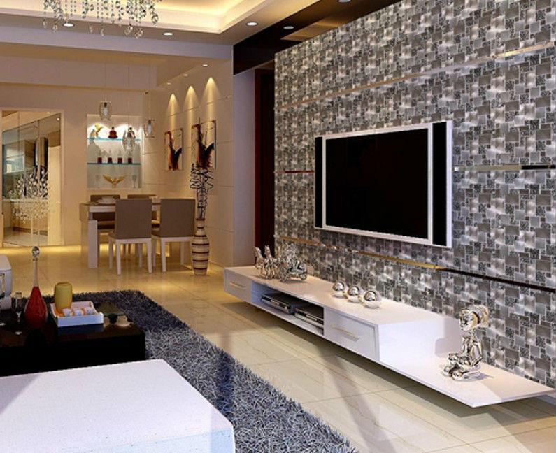 backsplash crystal glass tile ga81 metal and glass blend mosaic wall