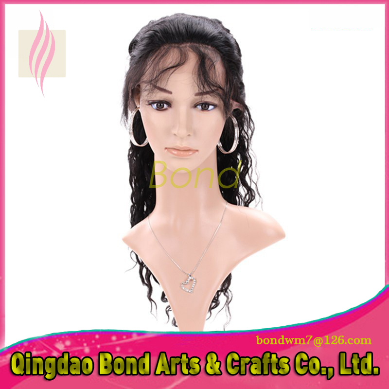 Фотография 7A Brazilian Loose Wave 130 Density Lace Front Human Hair Wigs For Black Women Glueless Lace Front Human Hair With Baby Hair