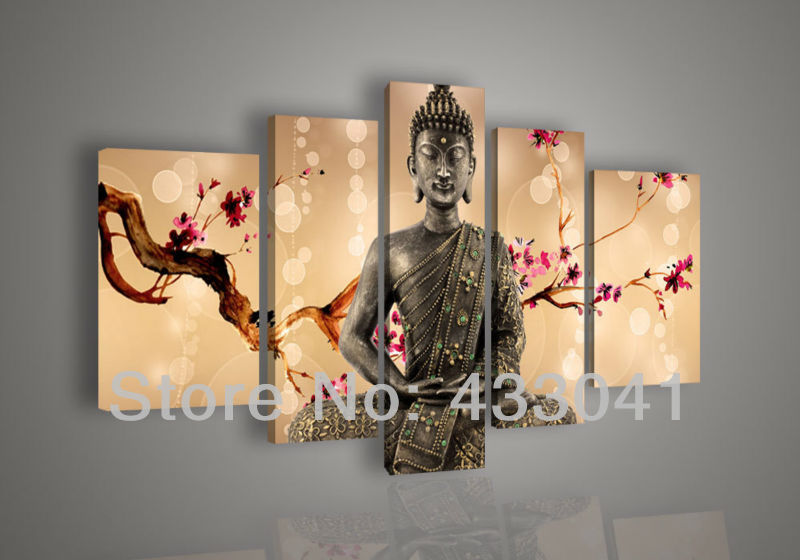 Abstract Buddha Art Wall Canvas Canvas Oil Wall Art Home