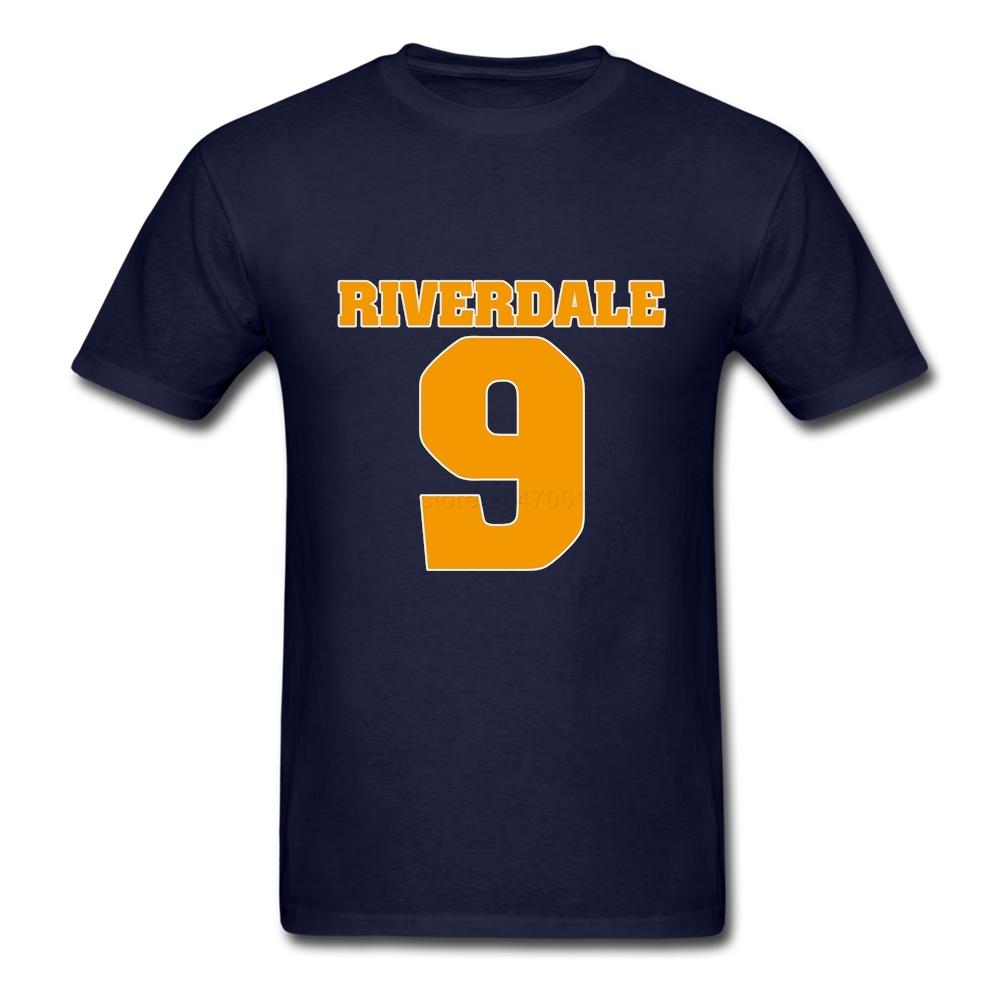 Original Design Riverdale Archie T-shirt Comics Mens Short Sleeved Soft Cotton Figure Nine T Shirt Guys Custom Tees(China (Mainland))