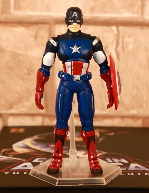Captain America Avengers Animated Toys Anime Captain America