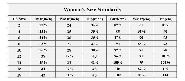 Nwu Blouse Size Chart 69