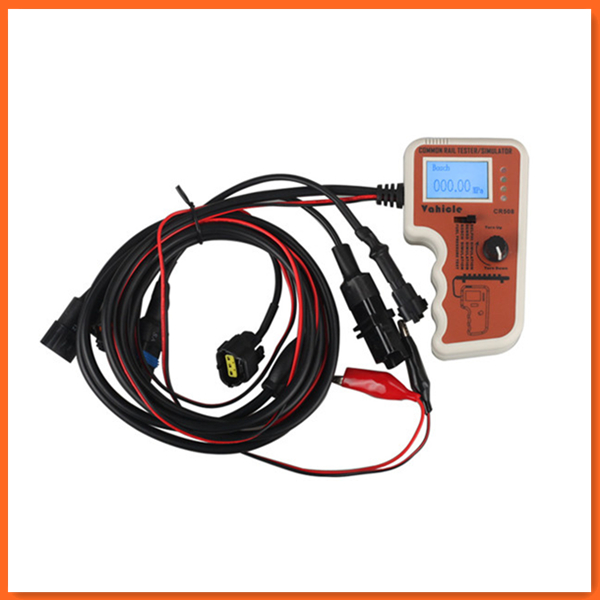 Diesel CR508 Common Rail Pressure Tester and Simulator by Rail Pressure Tester CR 508 LCD screen(China (Mainland))