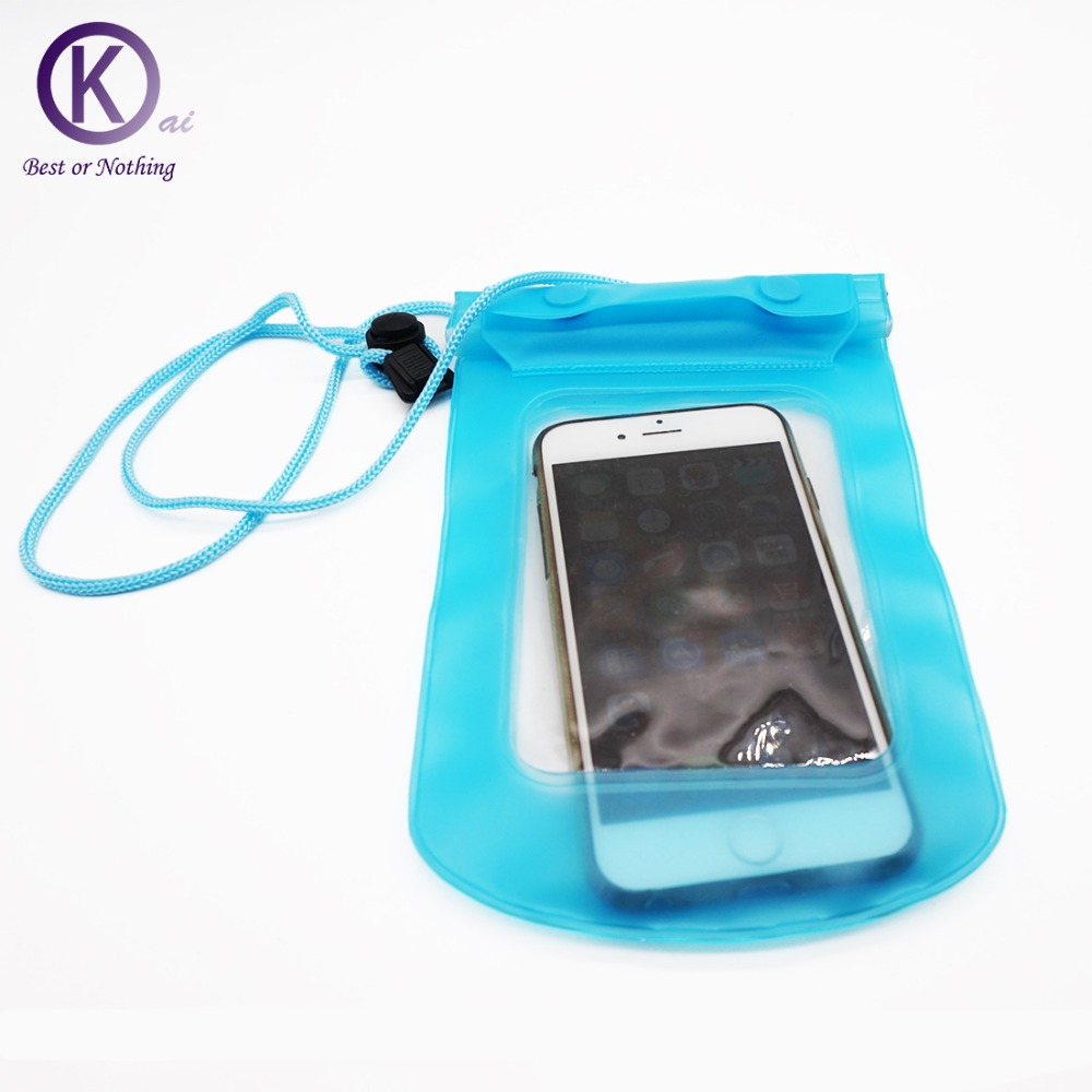 Mobile Phone Waterproof Bag Super sealing swimming water games surfing accessory Most cell phone models iphone,6s plus(China (Mainland))