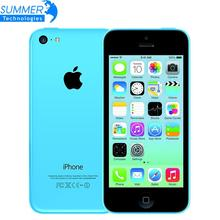 Buy Original Brand factory Unlocked Apple iPhone 5C Mobile Phone 16GB 32GB dual core WCDMA WiFi 8MP Camera Cell Phones Smartphone for $96.98 in AliExpress store