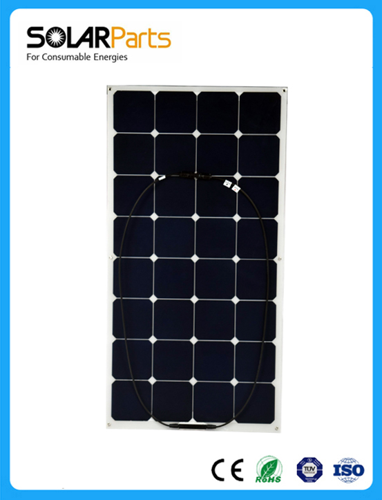 High efficiency 100W flexible solar panel solar module cell worked as battery charger(China (Mainland))