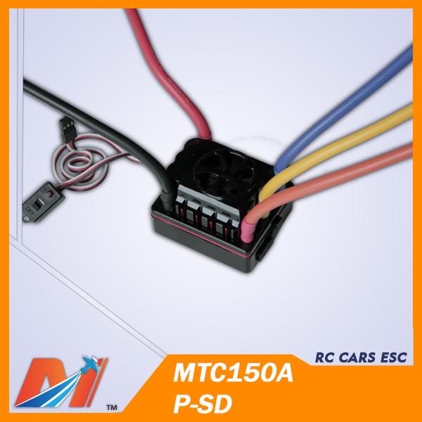 Maytech electric motor esc 150A 6S for 1/8 nitro rc car(China (Mainland))