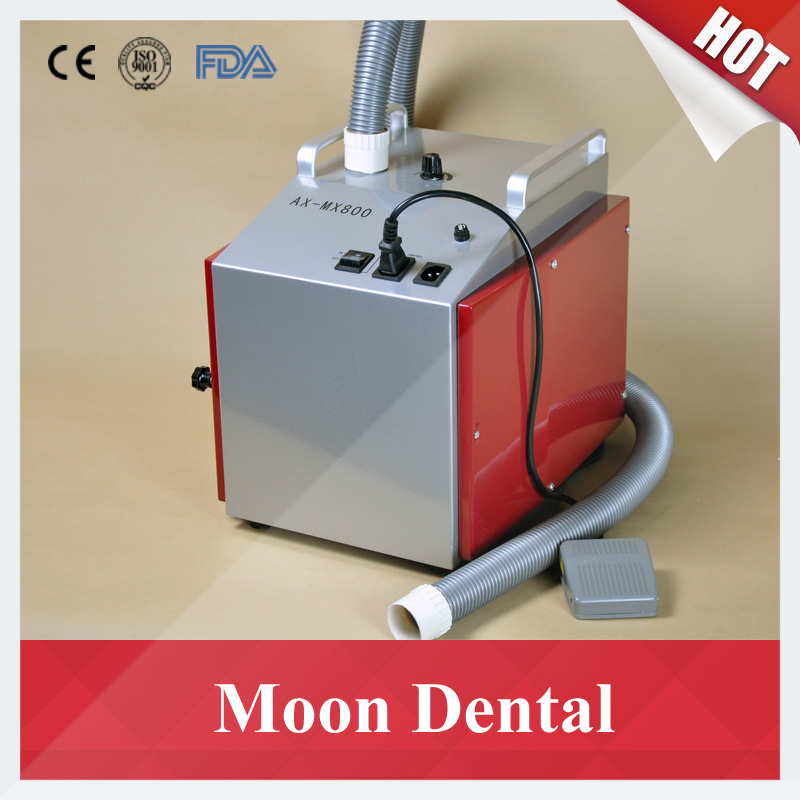 Dental Lab Equipment Low Noise AX-MX800 Dental Vacuum Dust Extractor with Foot Switch for Dust Extraction in Dental Labs(China (Mainland))