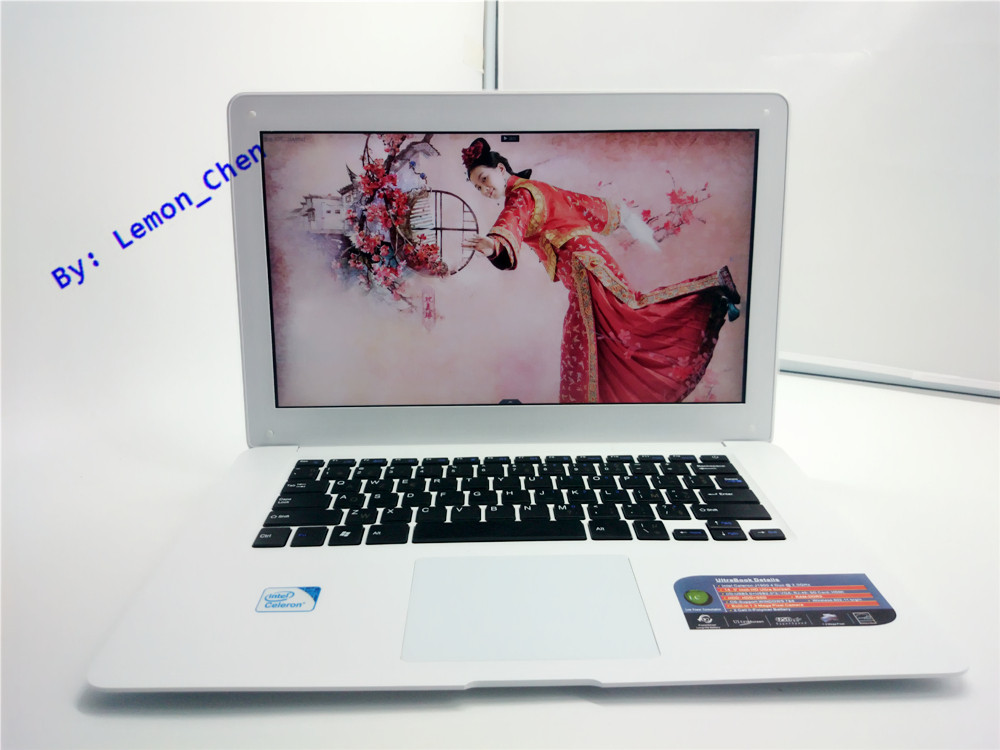 14 inch Gaming laptop notebook Windows8/7 Intel Celeron J1900 Quad Core 2.0GHz 8GB DDR3 1TB HDD Webcam slim netbook(China (Mainland))