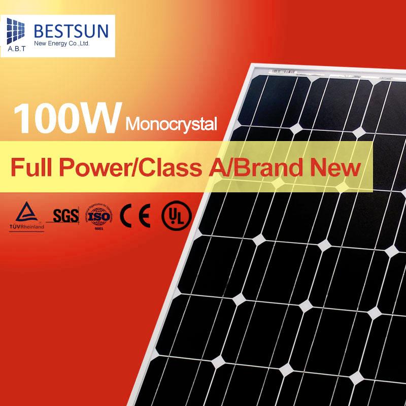 solar panel manufacturers in china,solar modules pv panel 50W 90W 100W Mono crystalline solar PV module(China (Mainland))
