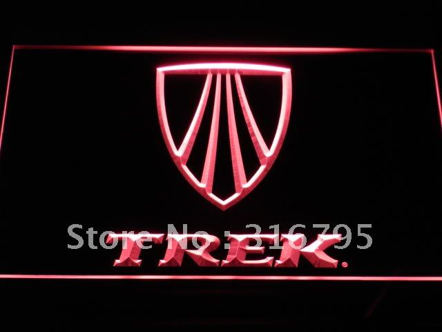 d195 Trek Bike Bicycle LED Neon Sign with On/Off Switch 7 Colors to choose(China (Mainland))
