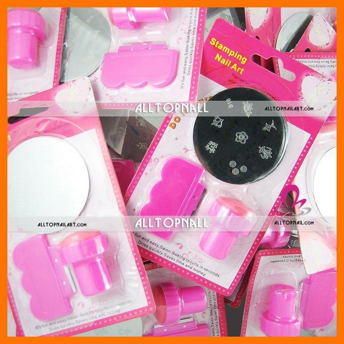 Top Sale free shipping-nail systems stamping Nail Art Stamping Set 36 kitslots mix designs.jpg