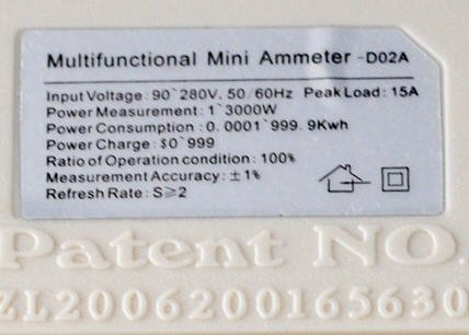 Multifunctional Mini Ammeter D02a инструкция на русском - фото 3