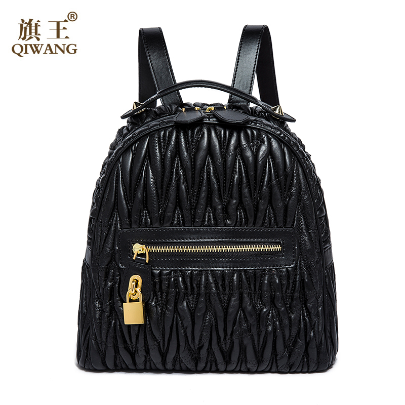 Back Purse : Back Pack Woman Black Bag Luxury Backpack Purse Ladies Travel Bag ...