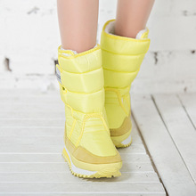 Women boots 2016 fashion new arrivals warm Ladies winter boots colorful snow boot(China (Mainland))
