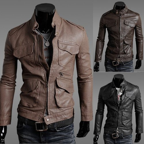 Mens Cool Leather Jackets - Jacket