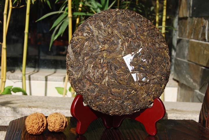 Big brick  cake Puer tea health care Chinese yunnan puerh 357g the China pu er cha to lose weight products cheap