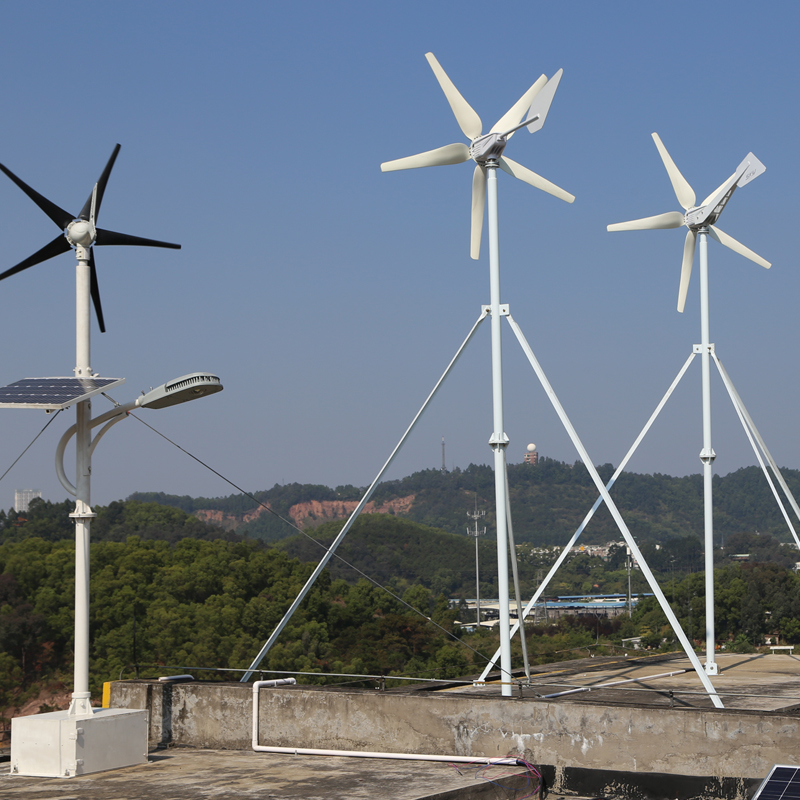 300W 24V wind turbine generator with 5 blades, low start wind speed with RoHS CE ISO9001 Certification China original design(China (Mainland))