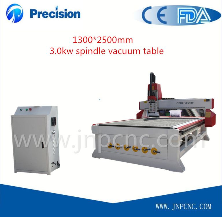 best price wood cnc router vacuum table CE approved cnc router machine woodworking(China (Mainland))