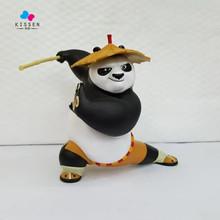 Kissen Anime 20 cm Kung Fu Po Panda Dragon Warrior Comics PVC Action Figures Toy for Kids Birthday Gift