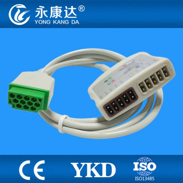 Фотография GE-Marquettte 10 lead Multi-Link EKG trunk cable