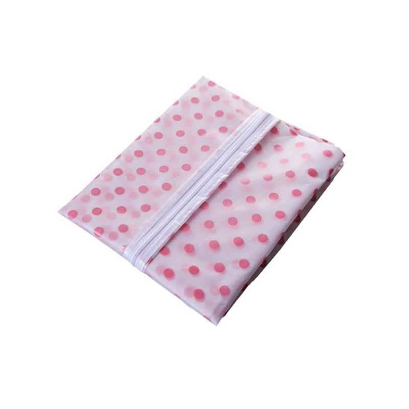 1pcs Waterproof Transparent Suit Dust Cover Can Washed Garment Hanging Bag Closet Organizer Wholesale Bulk Accessories Supplies(China (Mainland))