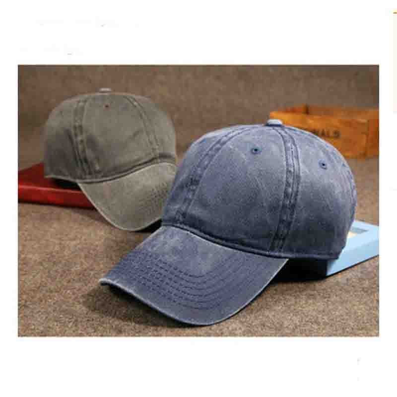 New Fashion Hip Pop Women Men Boys Girls Casual Outdoor Travel Sun Hat Snapback Baseball Cap Demin Do Old Gorras 10 Color Choose(China (Mainland))