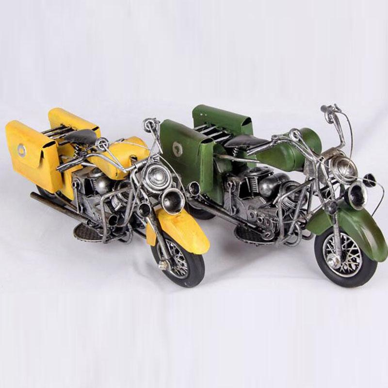 American style Iron Postal motorcycle model / home decoration Nostalgic Crafts(China (Mainland))