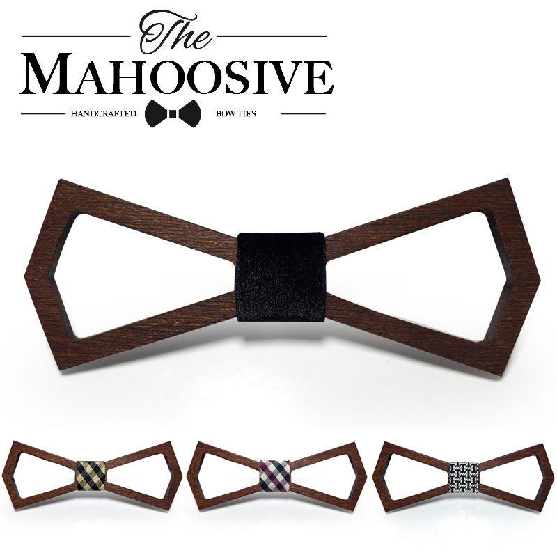 Wooden Fashion Bowties Groom Normal Mens wood Hollow Cravat Gift For Men Butterfly Gravata Male Marriage Wedding Bow Ties(China (Mainland))