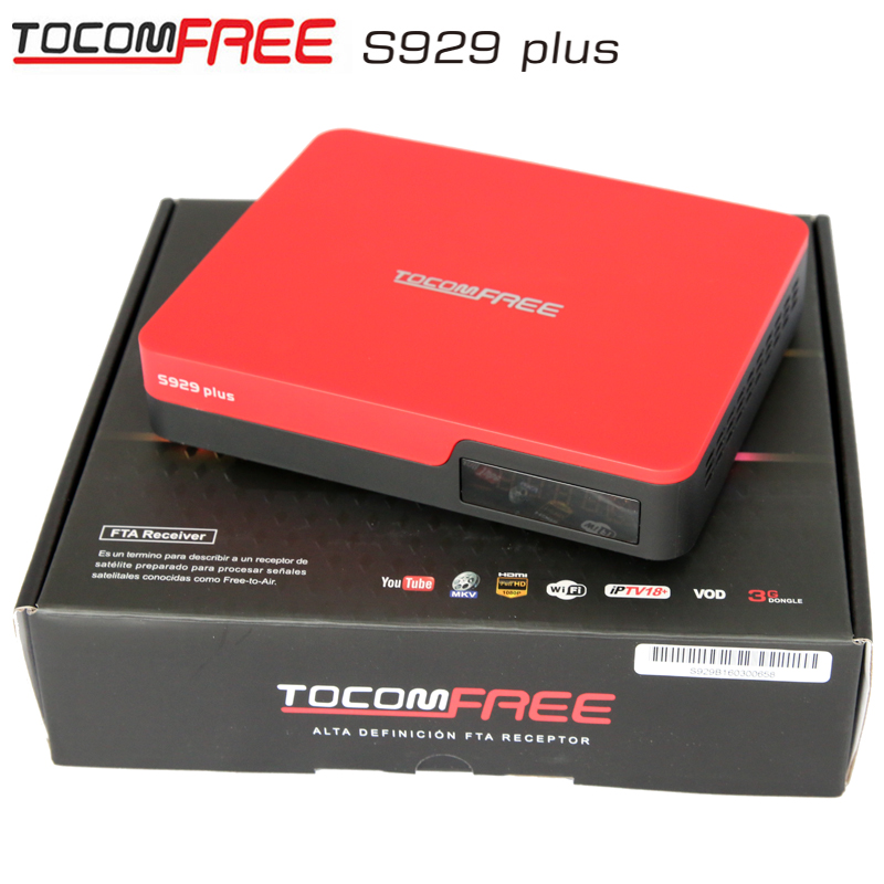 android tv box satellite receiver dvb s2 tocomfree S929 plus with sks iks buy in china from colombia(China (Mainland))