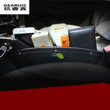 Caddy Car Seat Slit Gap Pocket Storage Glove Box Organizer Slot box Leather AUDI A1 A3 A4 A6 A5 A7 Q3 Q5 Q7 - Zhenccy Auto Accessories Manufacturing Co.,Ltd. store